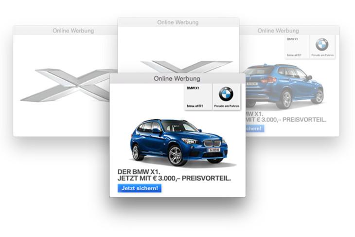 BMW X1 Banner